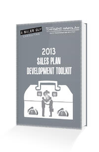 sales plan development toolkit mockup