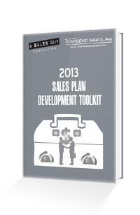 sales plan development toolkit mockup