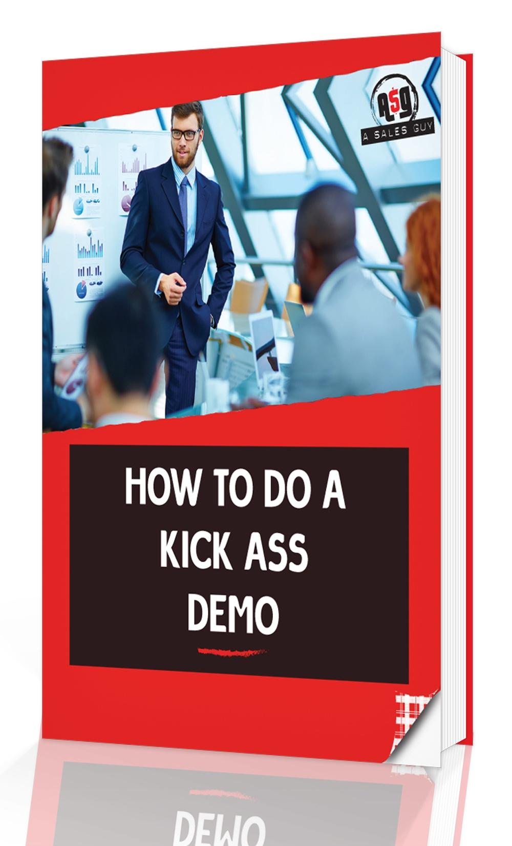 Sales eBook: How To Do A Kickass Sales Demo